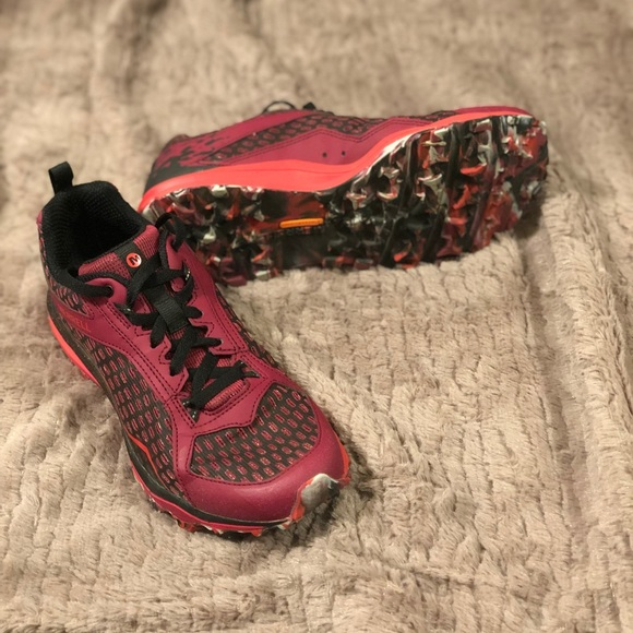 Merrell Damen All Out Crush Tough Mudder Trail Schuhe Size